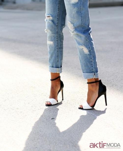 2019 Sandalet Stiletto Ayakkabı Modelleri
