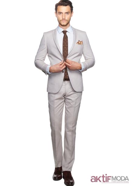 Beyaz Takım Elbise Modelleri 2020