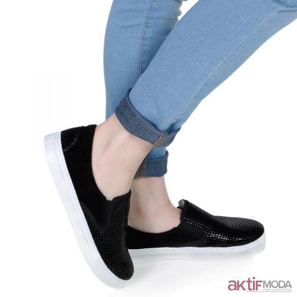 Deri İnci Kadın Ayakkabı Modelleri 2019