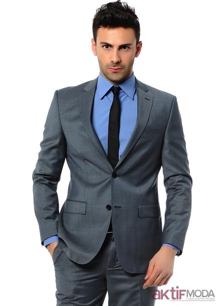 Gri Takım Elbise Kombinleri 2019