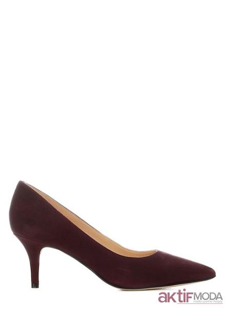Kadın Topuklu Deri Ayakkabı Modelleri 2019