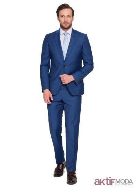 Mavi Takım Elbise Kombinleri 2020