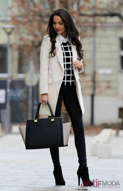 Ofis Kışlık Kıyafet Modelleri 2020