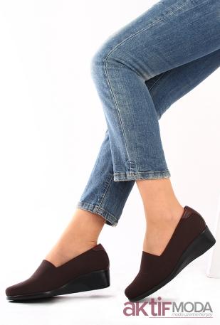 Renkli Kadın Deri Ayakkabı Modelleri 2019