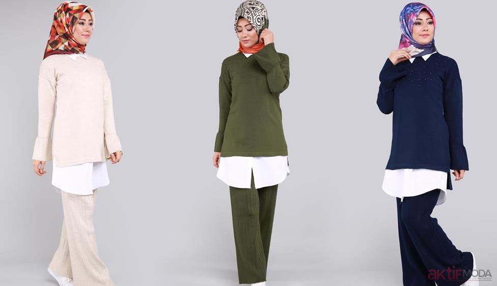 Renkli Tunik Modelleri 2019