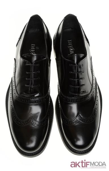 Siyah Desenli Erkek Ayakkabı Modelleri 2019