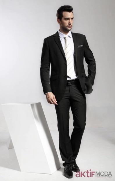 Siyah Takım Elbise Modelleri 2020