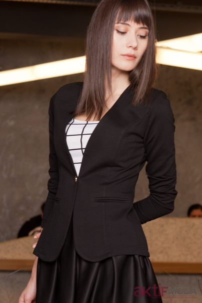 Trendyol Siyah Ceket Modelleri 2019