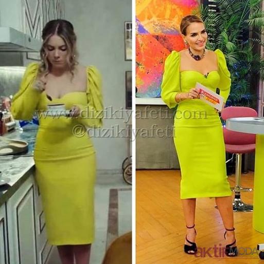 Yıldız Yasak Elma Dizi Elbiseleri 2019