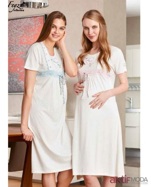 Kadın Uzun Gecelik Modelleri 2019