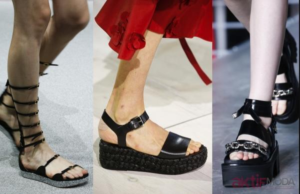 Şık Yazlık Ayakkabı Modelleri 2020