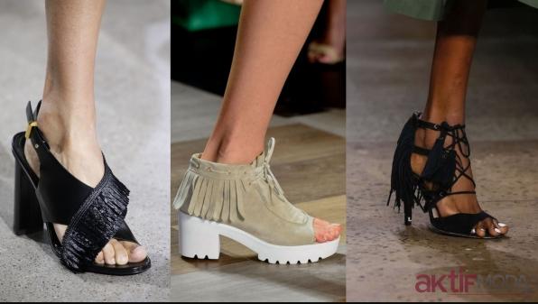 Püsküllü Ayakkabı Modelleri 2020