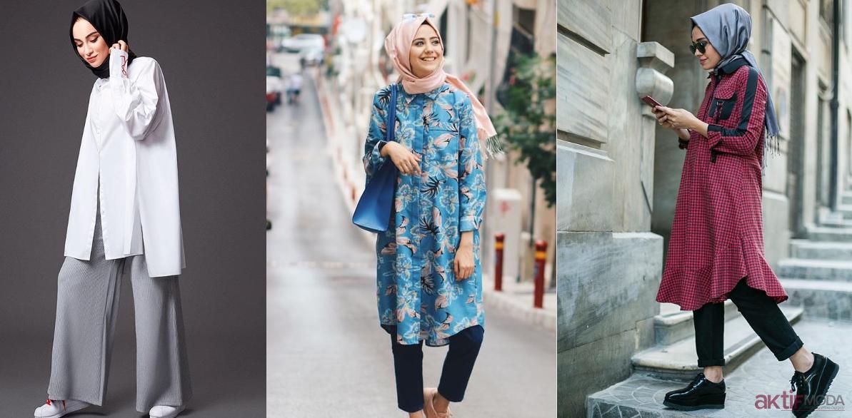 Tesettür Kıyafet Kombin Önerileri 2019