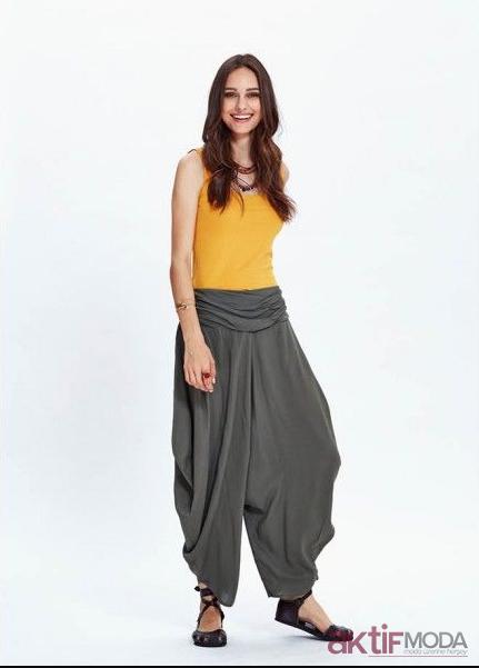Yazlık Şalvar Pantolon Modelleri