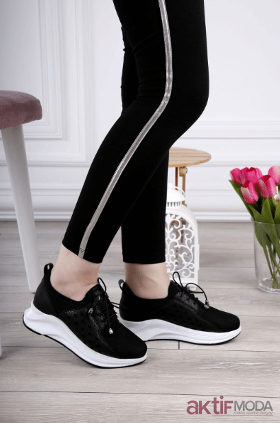 fe85dbb542ac8 2019 Dolgu Topuklu Kadın Spor Ayakkabı Modelleri - Aktif Moda ...
