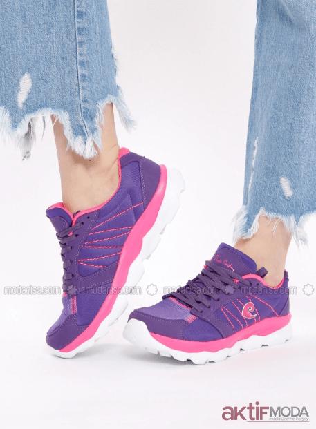 2019 Kadın Mor Spor Ayakkabı Modelleri