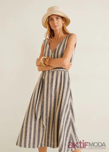 2019 Mango Yazlık Elbise Modelleri