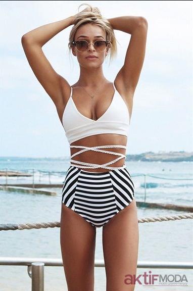 Beyaz Mayokini Modelleri 2019