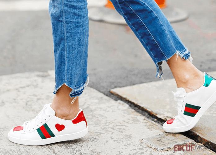 Beyaz Spor Ayakkabı Modelleri