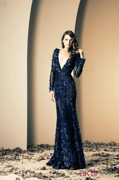 Dekolteli Abiye Elbise Modelleri 2020