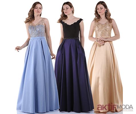 Parıltılı Genç Abiye Elbise Modelleri 2019