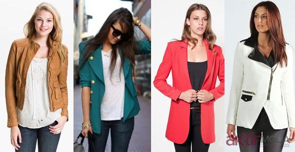Renkli Bayan Ceket Modelleri 2019