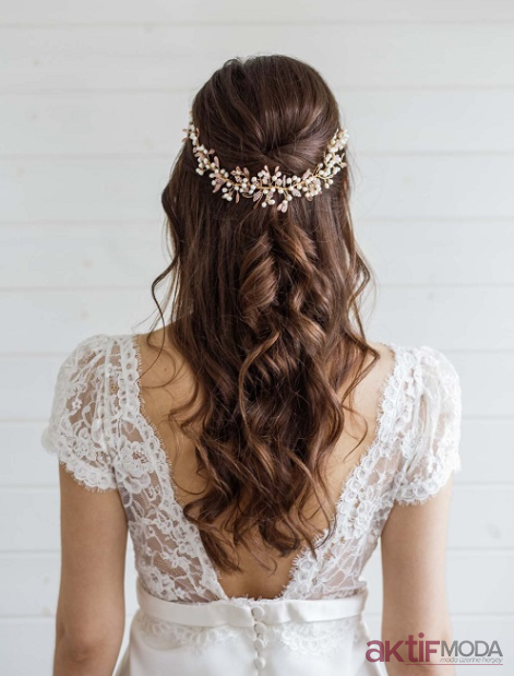 Salaş Gelin Saçı Modelleri 2019