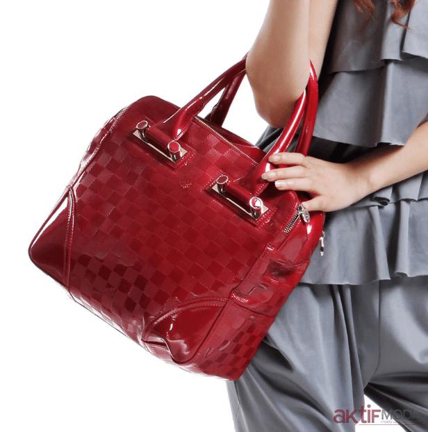 Kırmızı Çanta Modelleri 2019