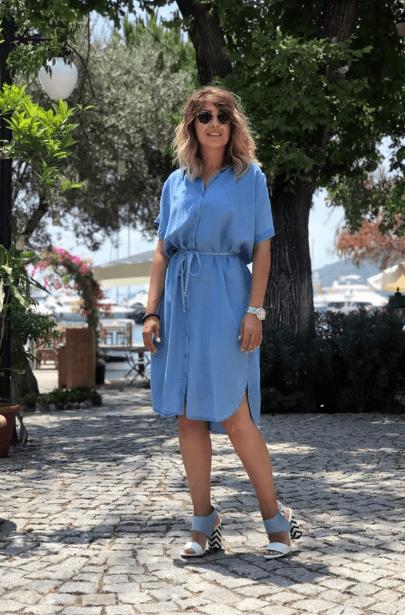 2020 Yazlık Kot Elbise Modelleri