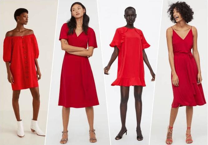2020 Kırmızı Kısa Abiye Elbiseler