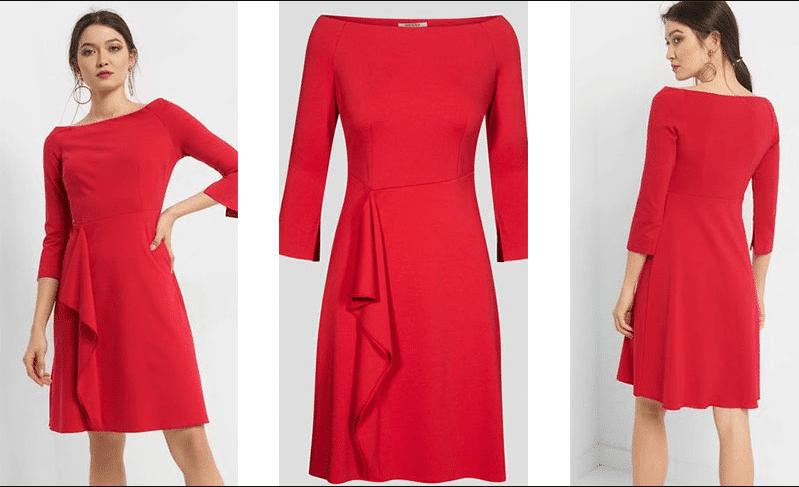 Kırmızı Abiye Elbise Önerileri 2020