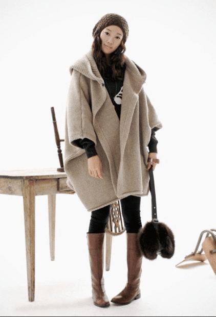 Kadın Panço Modelleri 2020