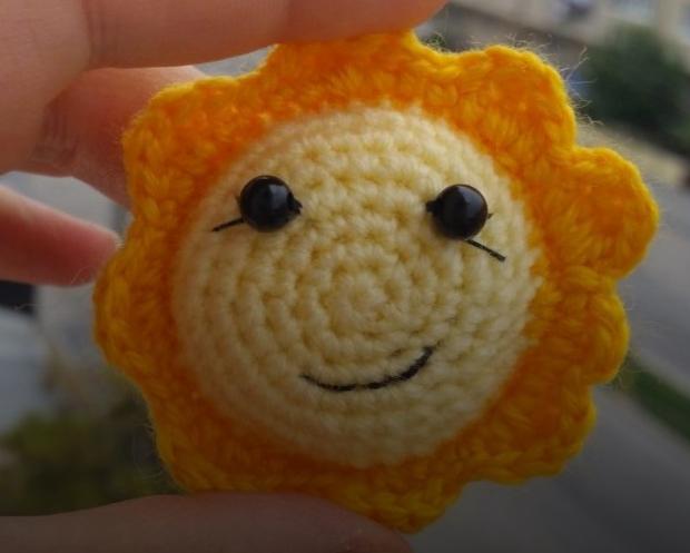 Amigurumi Mutlu Güneş Yapımı