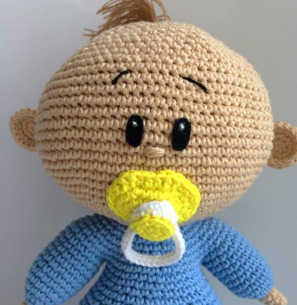 Amigurumi Tatlı Bebek Yapımı