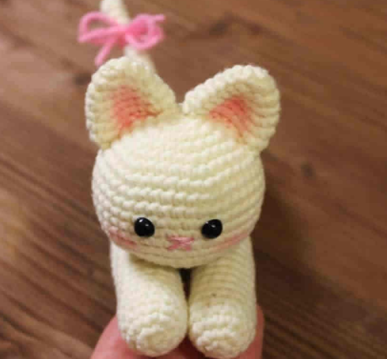 Amigurumi Sevimli Kedi Yapımı