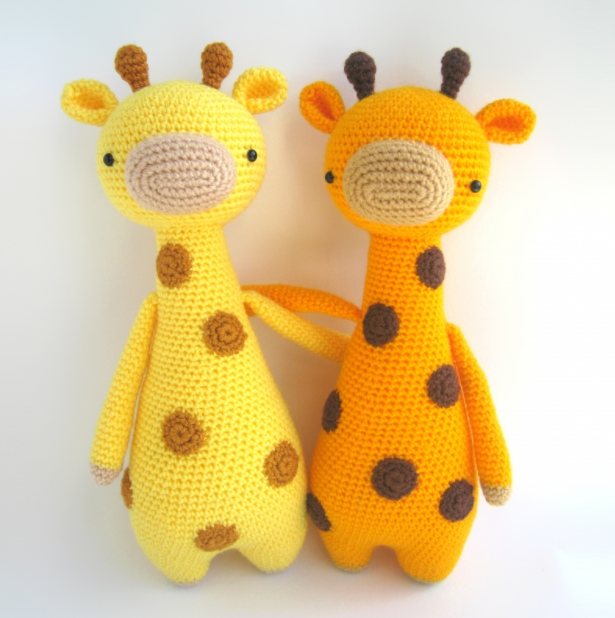 Amigurumi Sevimli Zürafa Yapımı
