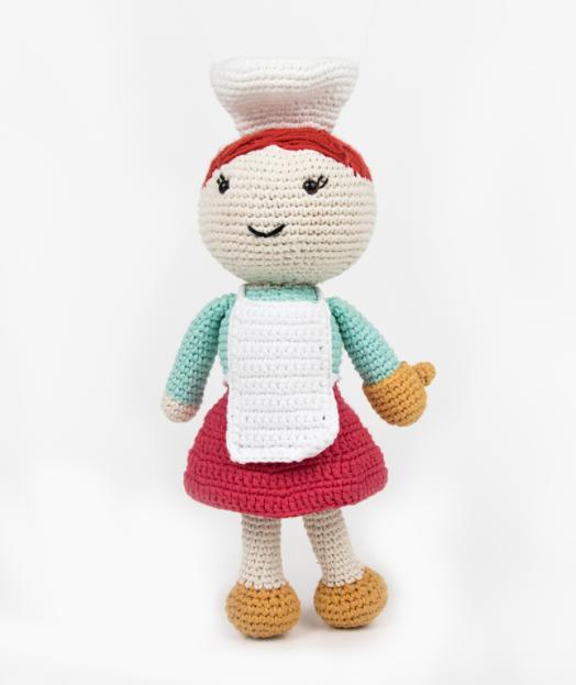 Amigurumi Aşçı Yapımı