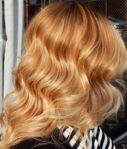 Sarı Saç Rengi