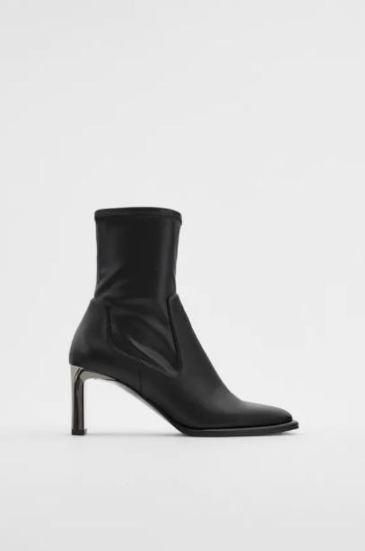 Zara Kadın Bootie Modelleri