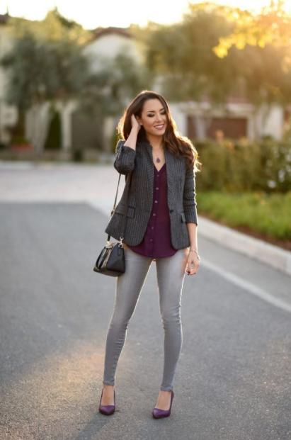 Kadın Füme Pantolon Kombinleri
