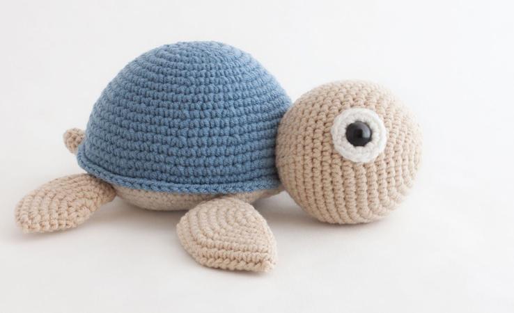 Amigurumi Sevimli Kaplumbağa Yapımı