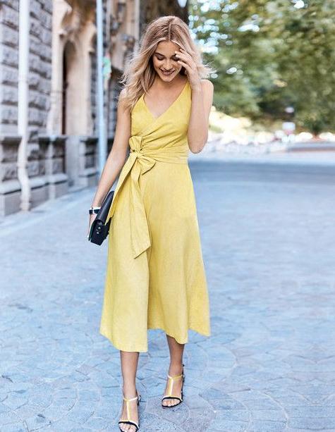 Sarı Renk Kombini Nasıl Yapılır?