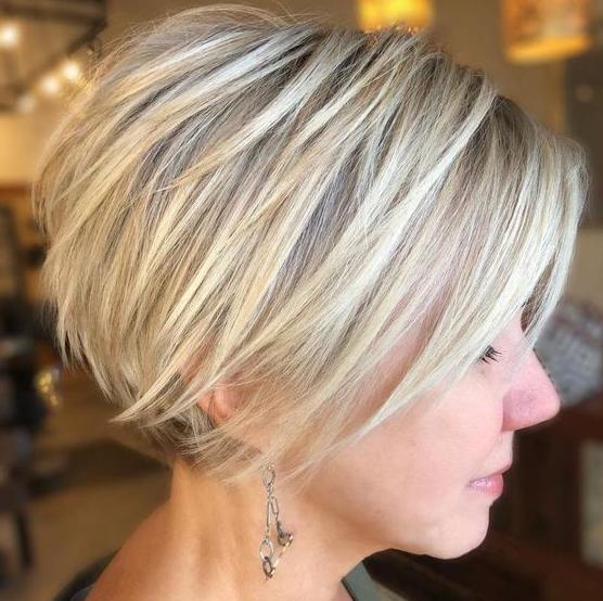 Sarışına Yakışan Saç Modelleri