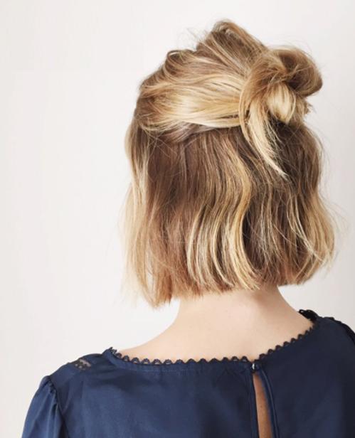 Trend Topuz Saç Modelleri
