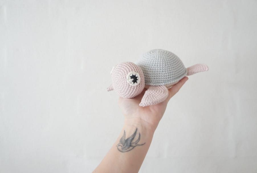 Amigurumi Şirin Kaplumbağa Yapımı