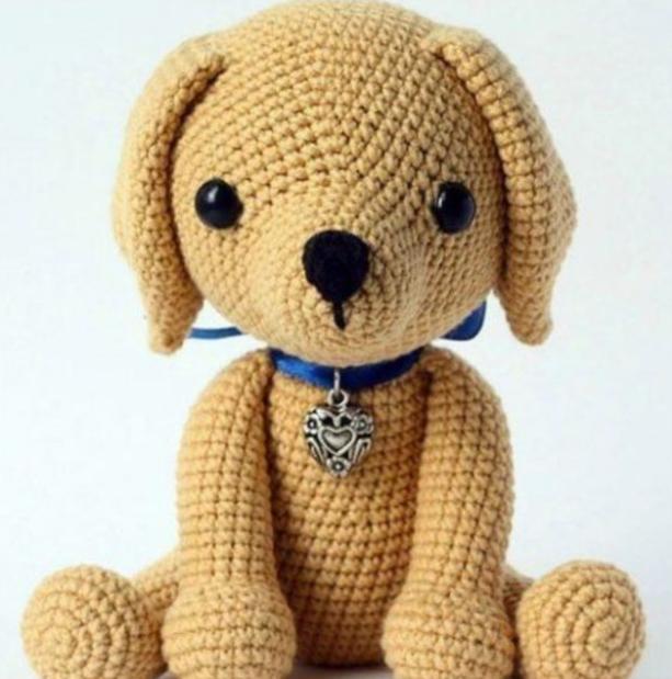 Amigurumi Sevimli Köpek Yapımı