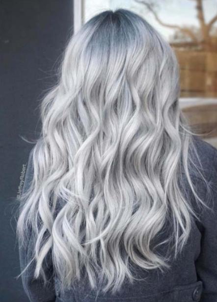 En Tarz Gri Saç Renkleri