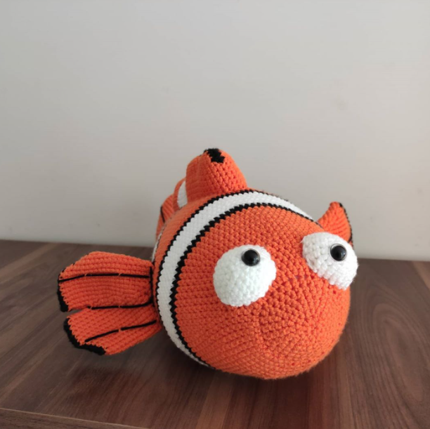 Amigurumi Sevimli Nemo Yapımı